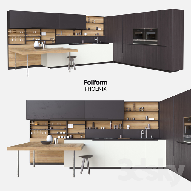 poliform varenna kitchen phoenix - Poliform Kitchen