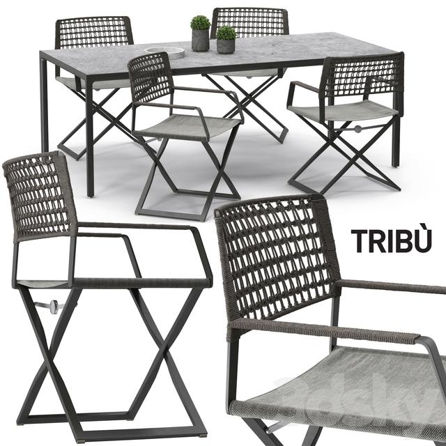 Tribu Regista chair set 01