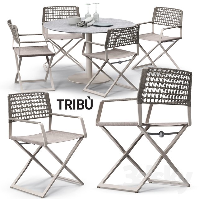 Tribu Regista chair set 02