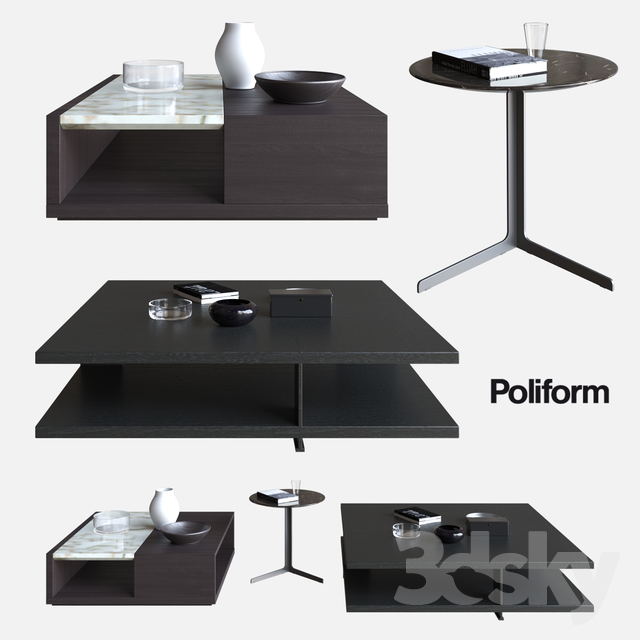 POLIFORM COFFEE TABLES BRISTOL U0026 CLASS U0026 BABA