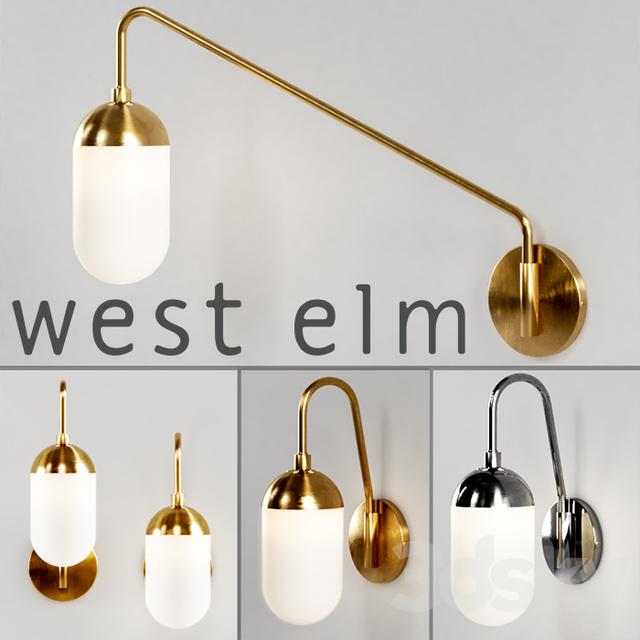 west elm lighting sconce lighting ideas. Black Bedroom Furniture Sets. Home Design Ideas