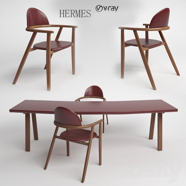 3d Models: Office Furniture   HERMES
