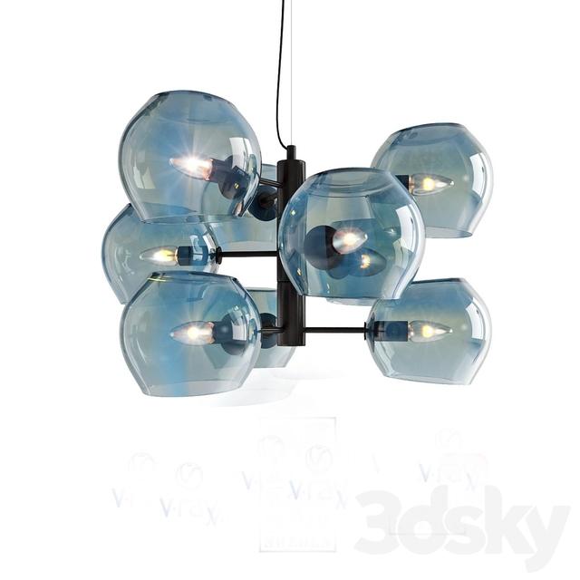 3d models: Ceiling light - Model SOAP, ceiling light from
