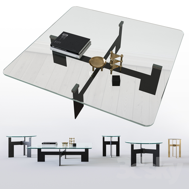 Minotti Ellis Table Set