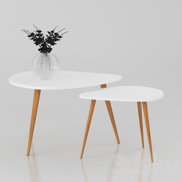 3d Models: Table   Coffee Table Nolan B
