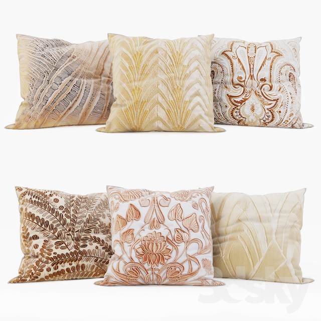 Incredible 3D Models Pillows Zara Home Decorative Pillows Set 17 Ocoug Best Dining Table And Chair Ideas Images Ocougorg