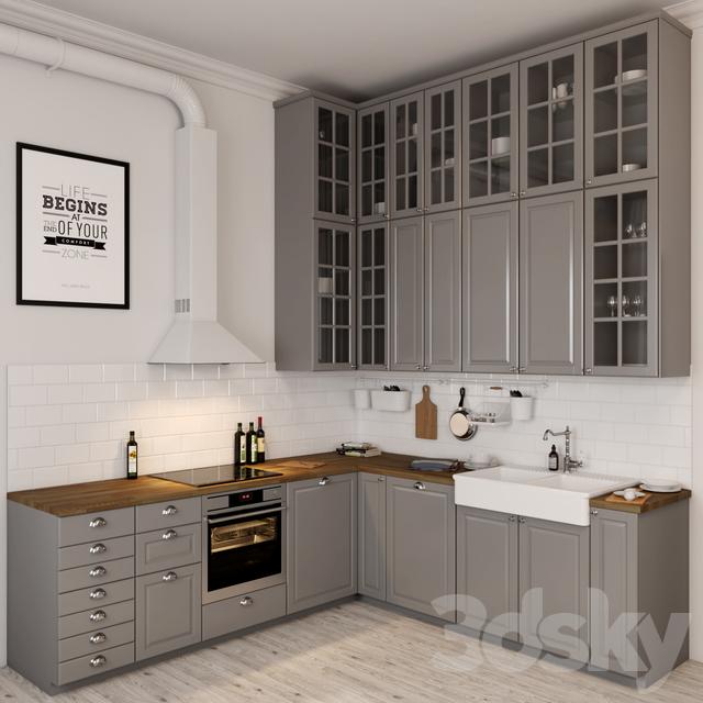Ikea Kitchen Design Login: 3d Models: Kitchen