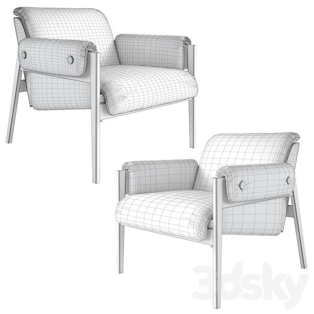 Tremendous 3D Models Arm Chair Chair West Elm Stanton Chair Alphanode Cool Chair Designs And Ideas Alphanodeonline