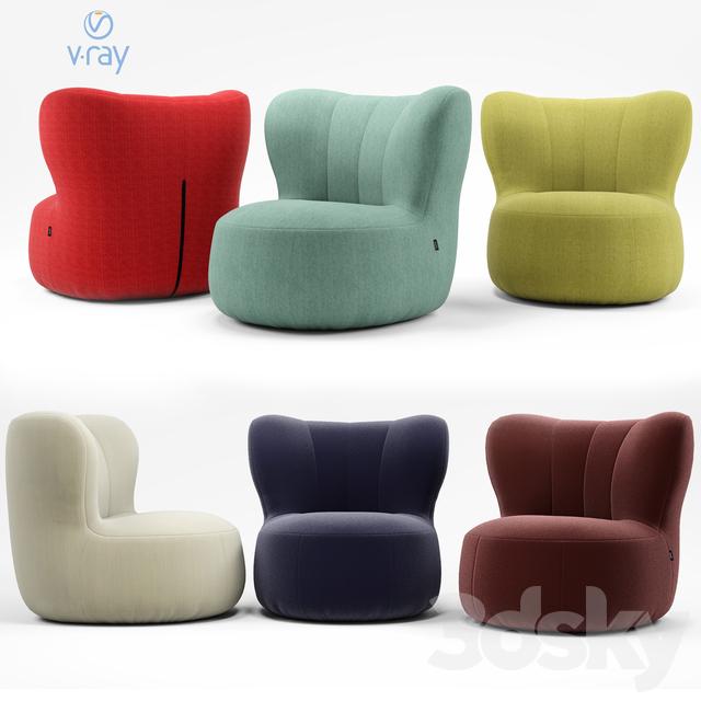 Rolf Benz. Freestil chair 173.