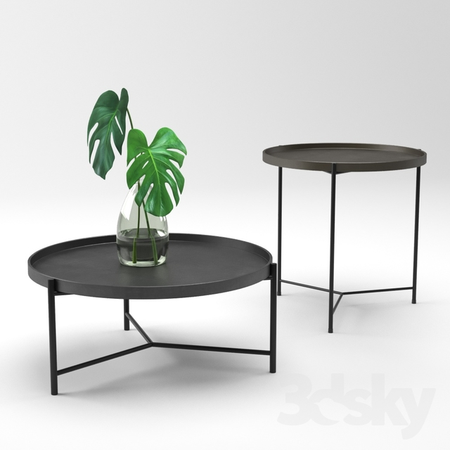 Admirable 3D Models Table Croft House Bronson Coffee And Side Table Ibusinesslaw Wood Chair Design Ideas Ibusinesslaworg