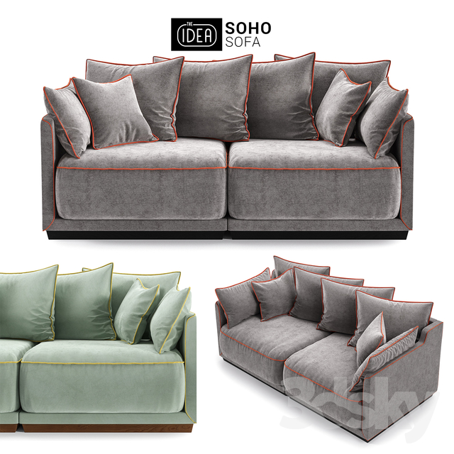 The IDEA Modular Sofa SOHO (item 803 804)