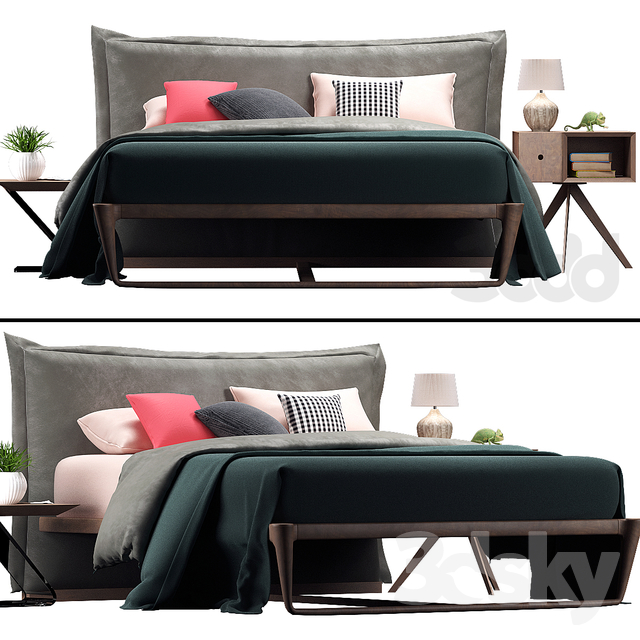 AltaCorte PEGASO Bed Collection ECOLAB NIGHT