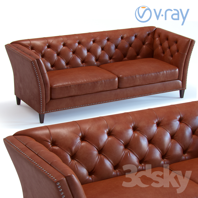 Groovy 3D Models Sofa Scotch Tufted Sofa Download Free Architecture Designs Grimeyleaguecom