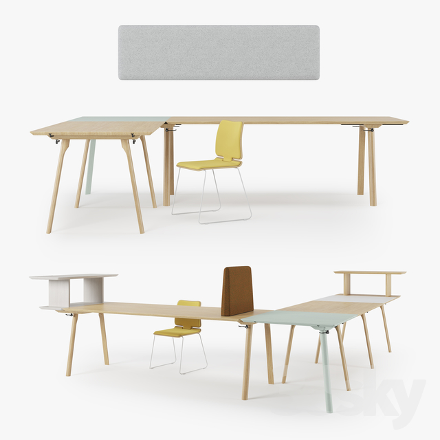 3d Models: Office Furniture