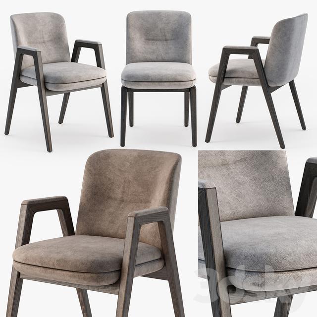 3d Models Chair Minotti Lance Chair