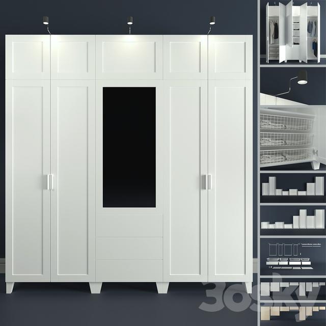 The modular system of Platsa Ikea (designer).