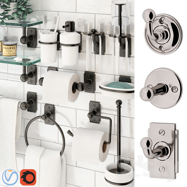 Bathroom Accessories Nanzaquatic. Collections: Baluster, Functional, Art  Deco.