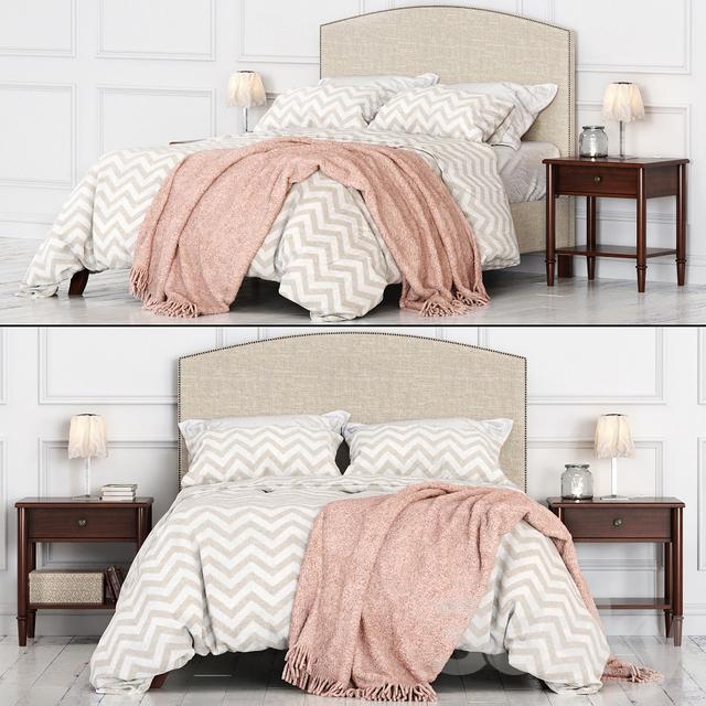 Potterybarn Fillmore Bed