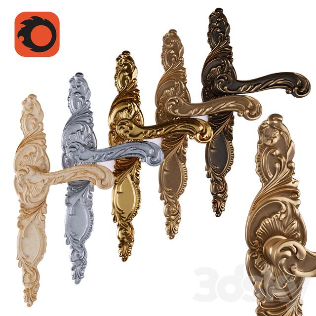 door handle GROEL ROCCO 8045  sc 1 th 225 & 3d models: Doors - door handle GROEL ROCCO 8045