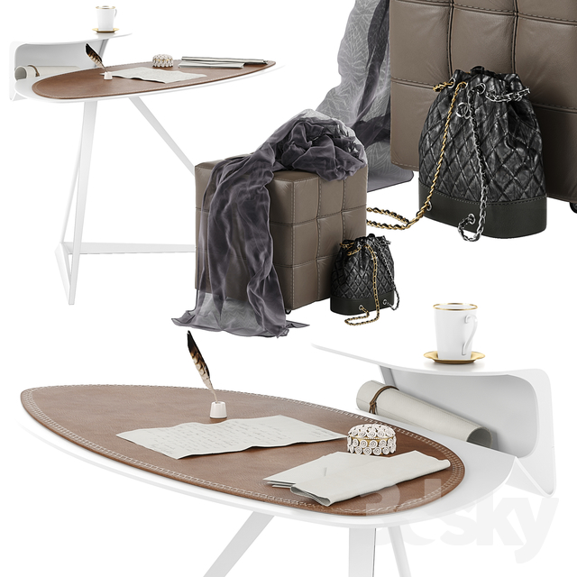 Cattelan Italia Storm desk set 02