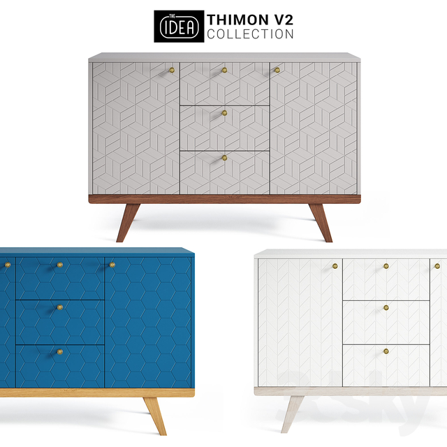 The IDEA THINON v2 chest of drawers
