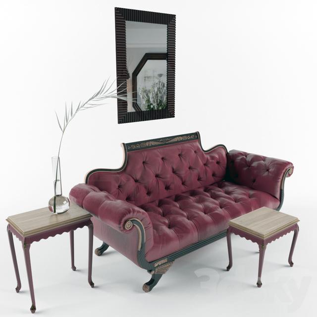 Leather Furniture Hickory North Carolina: Old Hickory Tannery Promenade Duncan Sofa