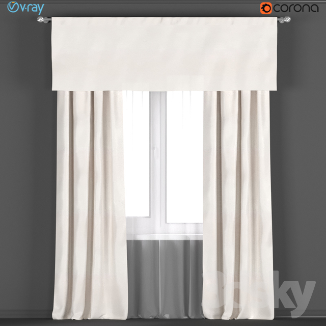 Curtains From RH Restoration Hardware In Color WARM WHITE Tulle