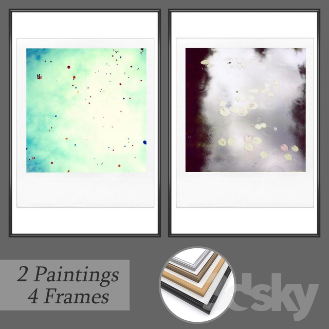 Set of wall paintings No 157