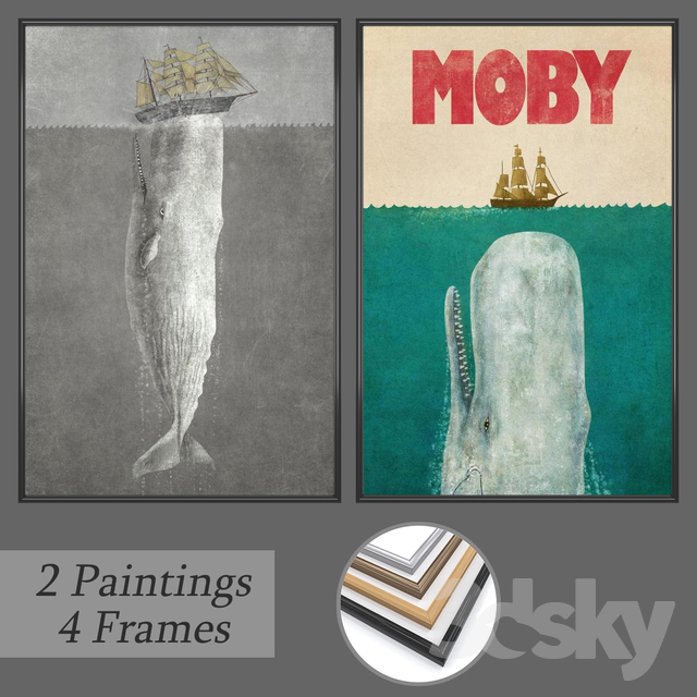 Set of wall paintings No 158