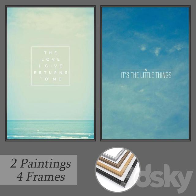 Set of wall paintings No 162