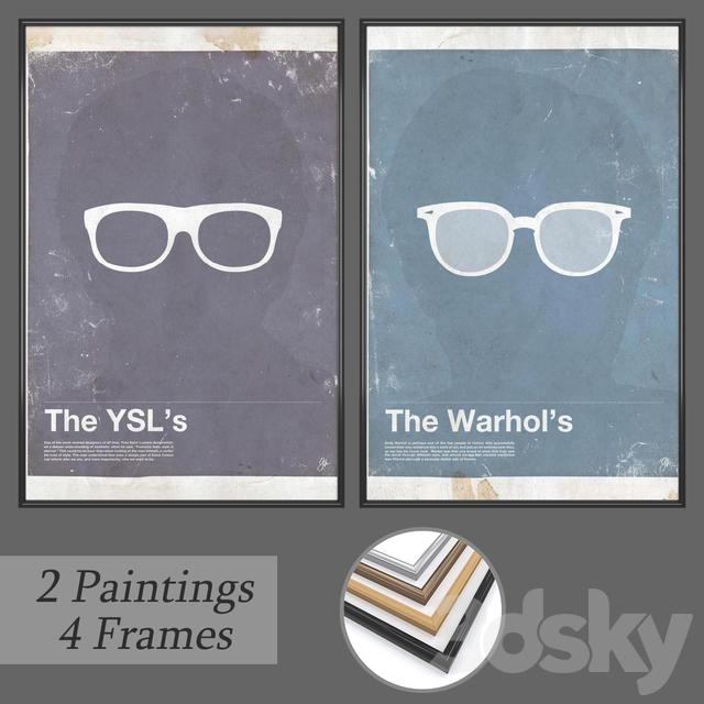 Set of wall paintings No 165