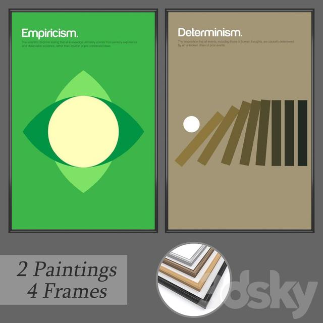 Set of wall paintings No 169