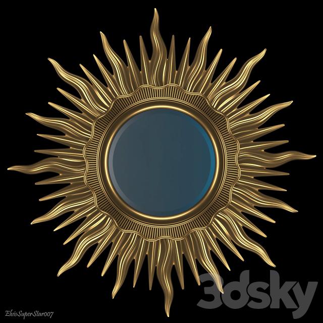 3d models: Mirror - Mirror Sun / Mirror Sun