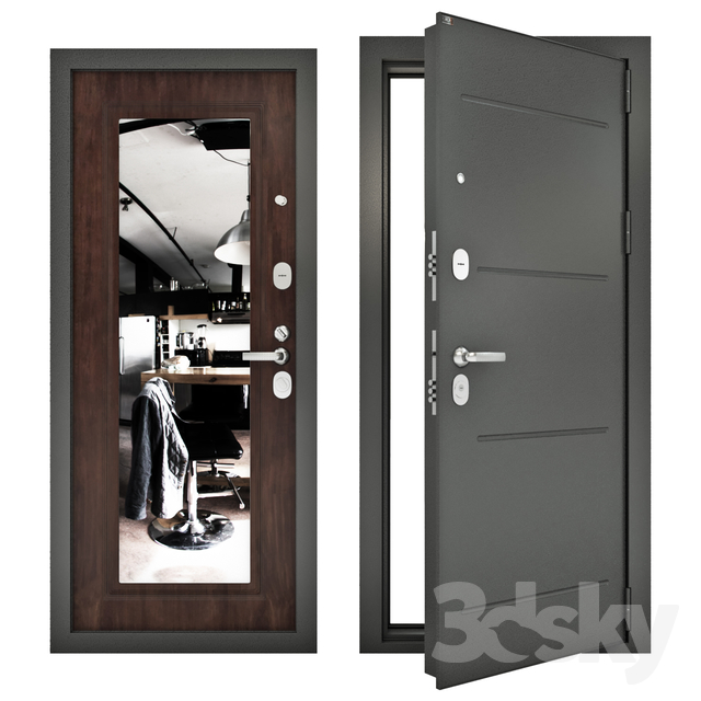 Steel entrance doors Groff P (Premium) р2-206