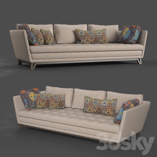 Roche Bobois Littoral II 3 seat sofa