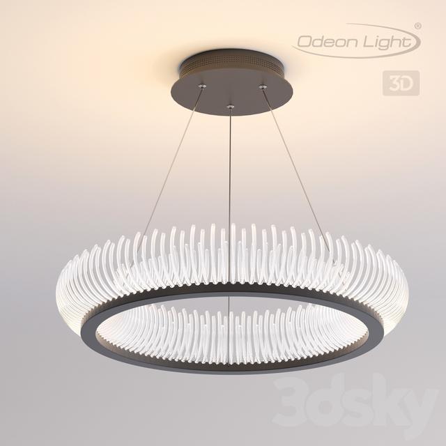 Pendant light ODEON LIGHT 3863 / 61L FIRE RING