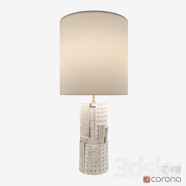 3d Models Table Lamp Kelly Wearstler Pastiche Table Lamp