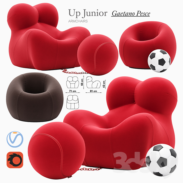 Up Junior armchair