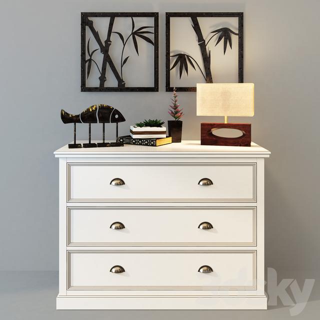 Dresser Palermo with three drawers. Whatnot