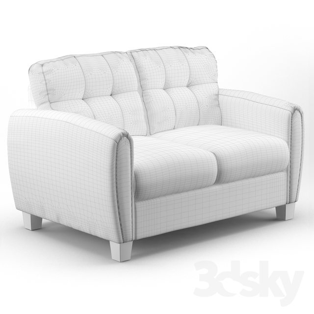 Excellent 3D Models Sofa Wayfair Derry Upholstered Loveseat Andrewgaddart Wooden Chair Designs For Living Room Andrewgaddartcom