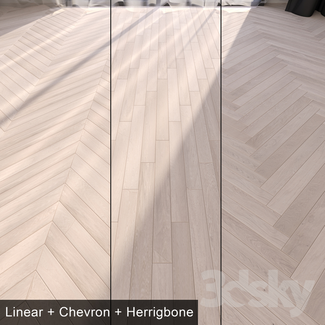 3d models: Floor coverings - Parquet Montblanc - Vray Material