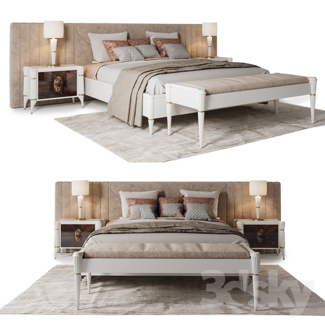 Francesco Pasi bedroom set