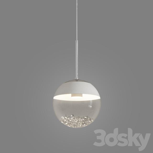 detailed look 3abcd 5e225 3d models: Ceiling light - MONTEFIO 1 LED MINI PENDANT BY EGLO