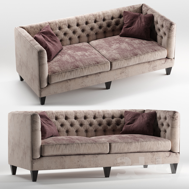 Peachy 3D Models Sofa Beckett Sofa By Bernhardt Furniture Download Free Architecture Designs Rallybritishbridgeorg
