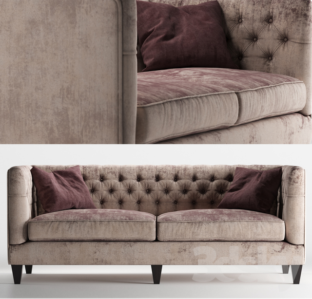 Astounding 3D Models Sofa Beckett Sofa By Bernhardt Furniture Download Free Architecture Designs Rallybritishbridgeorg