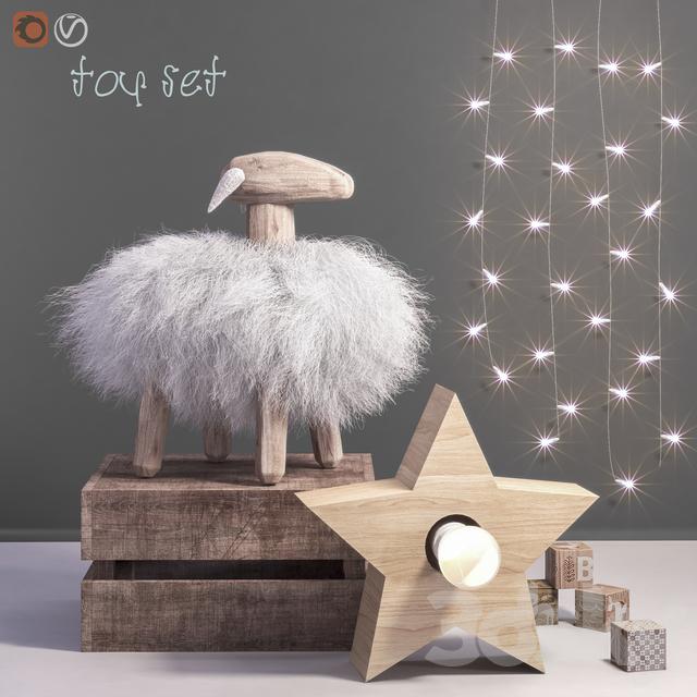 Toys and dekor set 44