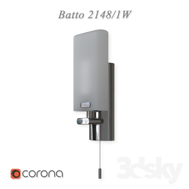 Sconce with switch waterproof Batto 2148 / 1W