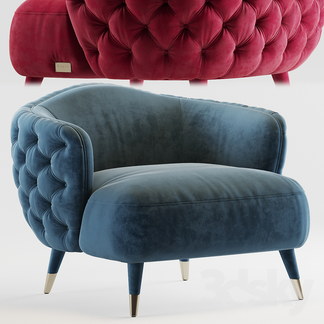 Savoi Armchair by black tie