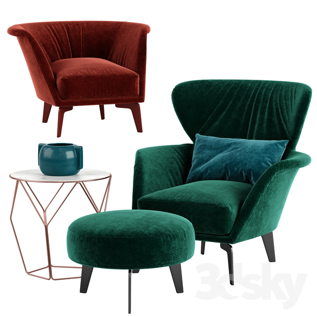 Bonaldo Lovy armchair