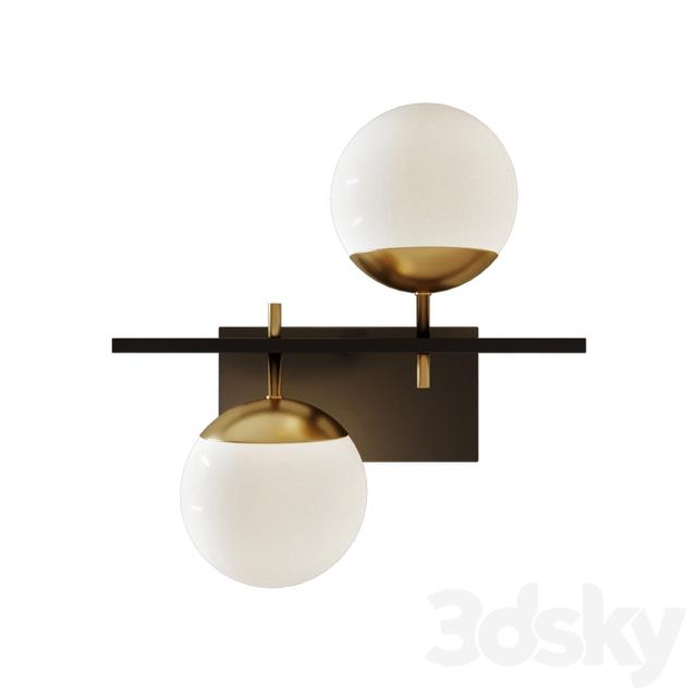 3d Models Wall Light Alluria 2 Light Wall Sconce By George Kovacs